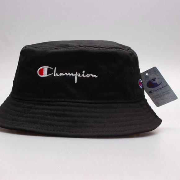 NWT Champion Unisex Black Bucket Hat 2f51e323bd6